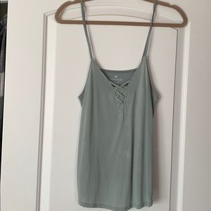 American eagle sueded tank